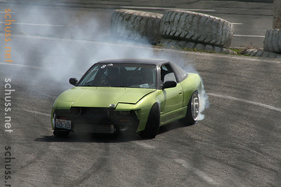 Evergreen Drift - Evergreen Speedway - April 2009
