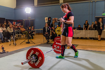 Womens British Powerlifting 7th March 2020 PM Group A