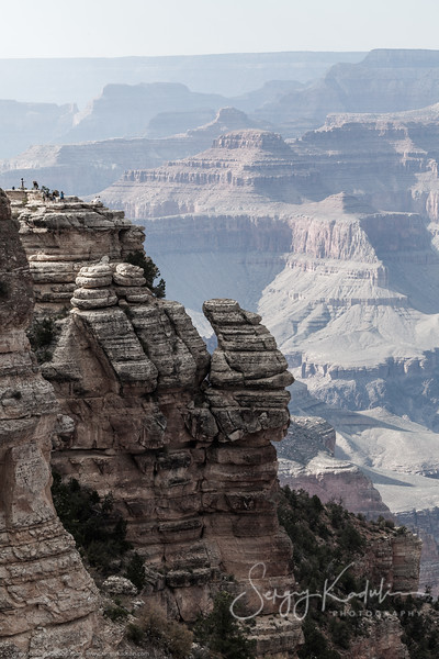 Scale of the Grand Canyon