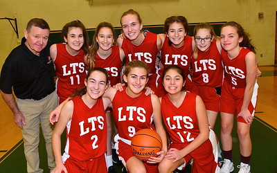 LTS Girls JV Basketball vs BBA photos by Gary Baker