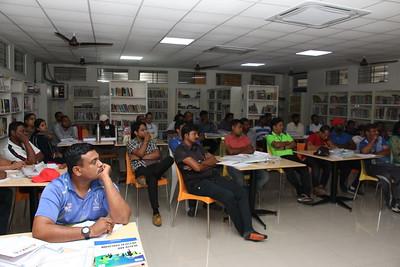 2019-05-28 Workshop by Ms.Sunita Premalatha on Sports Nutrition For Activity Staff