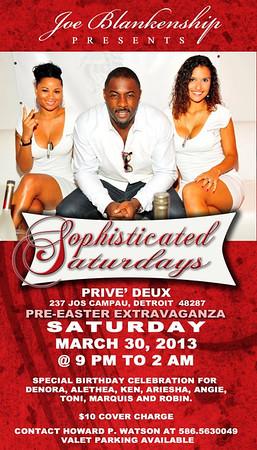 Prive Deux 3-30-13 Saturday