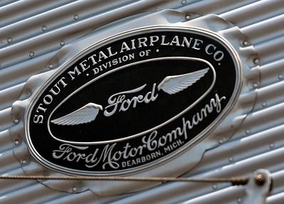 EAA Ford Tri-Motor at Briscoe Field, May 26, 2012