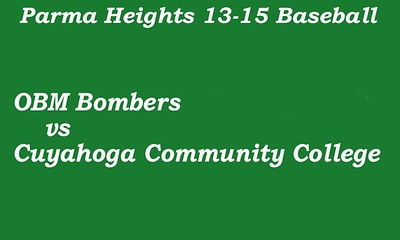 170708 Parma Heights Boy's 13-15 Baseball Game 2