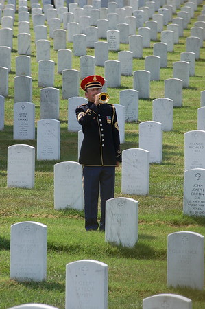 8/11/2008 Ryan Patrick Baumann, Sgt. USA was laid to rest at Arlington National Cemetery