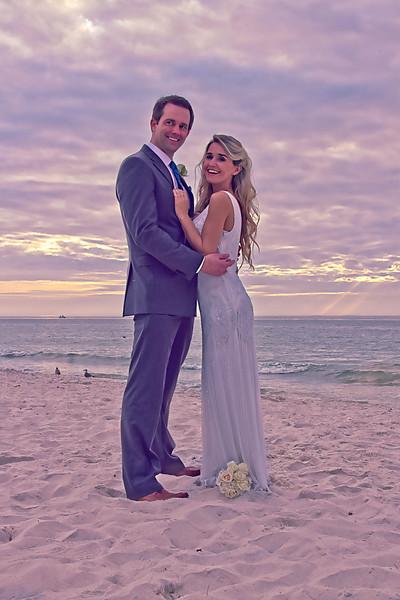 Beachfront Bruna and Matt Durian