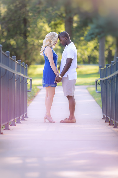 Gabrielle & Darien Engagement