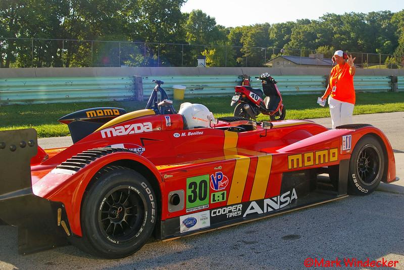 ANSA Motorsports, Miguel Benitez