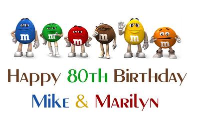 M&M 80th Birthday