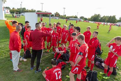 Boys JV Soccer - 9/27/2018 Oakridge