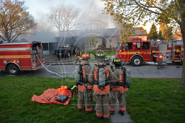 May 8, 2016 - 2nd Alarm - 44 Gage Avenue