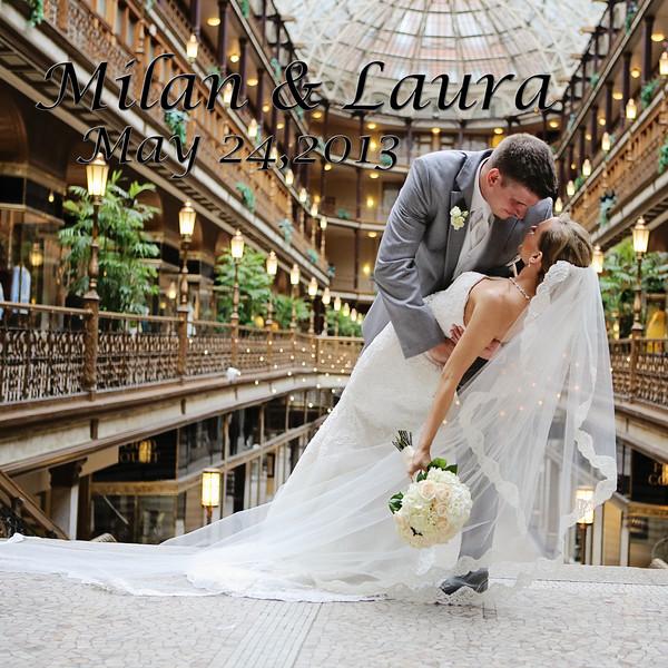 Laura & Milan 12x12 Wedding Album