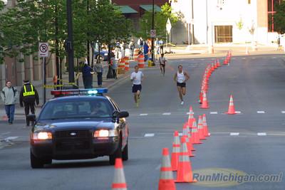 5K Finish - 2001 River Bank Run