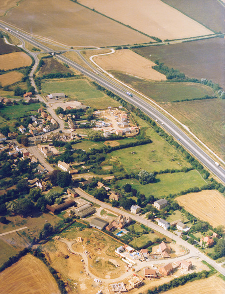 Construction of Ivy Way and Littlecotes Close