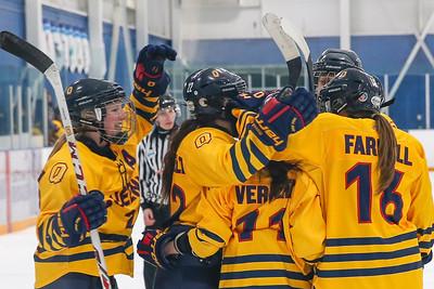 Women's Hockey - Queen's at UOIT 20150129