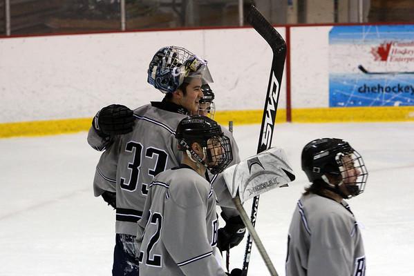 Bridgton Academy vs. NJ Hitmen U19 Jan 24, 2009 @ Northwood Tournament