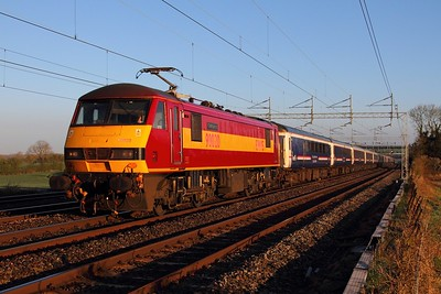 West Coast Main line - Rugby to Stafford