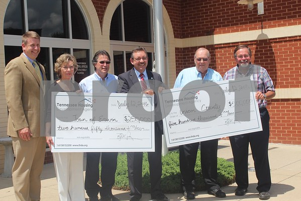 THDA Awards Grant Funds to Unicoi County, Town of Erwin - July 2016