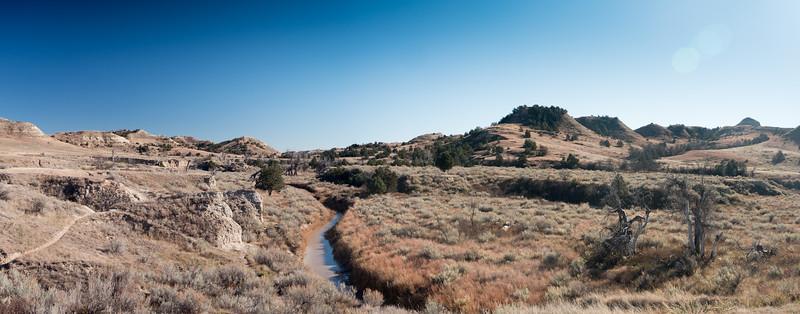 Lower Paddock Creek Trail Thoedore Rossevelt National Park