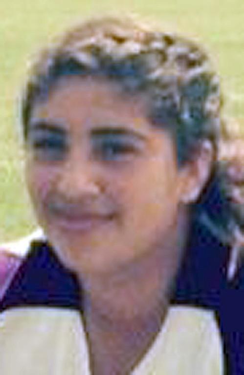 . Natalie Calderas has been named to The Sun\'s All-Area softball team. Calderas plays softball for Jurupa Hills High Schoo. Courtesy photo to The Sun.