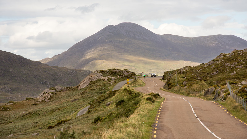 R568 road at Moll's Gap