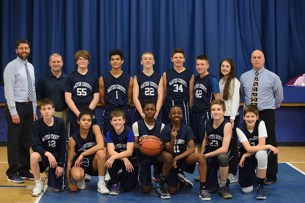 2-9-18 Basketball Team Pictures