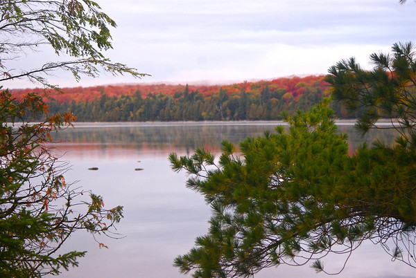 Algonquin Park East to West: Baron Canyon Bice Lake