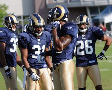 2009 Rams Practice Photos