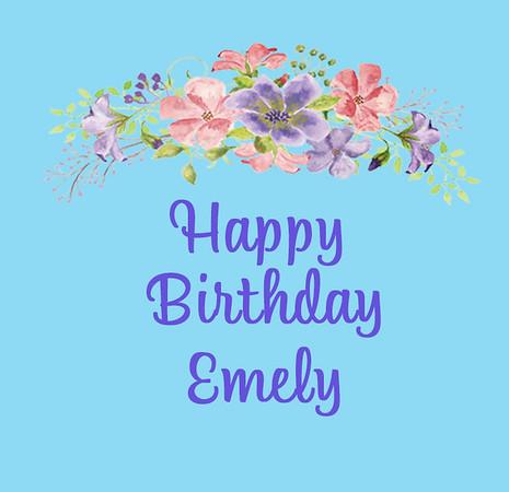 Emely's Birthday July 6