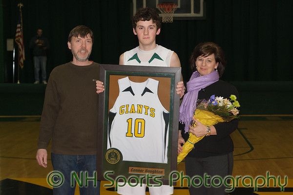 Brady Boy's Senior Night  Vs. Milford