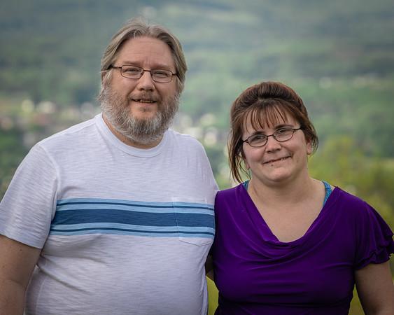 Pat & Cindy 25th