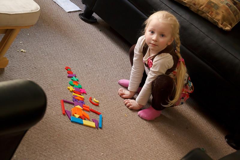 Chloe's Art - February 2011