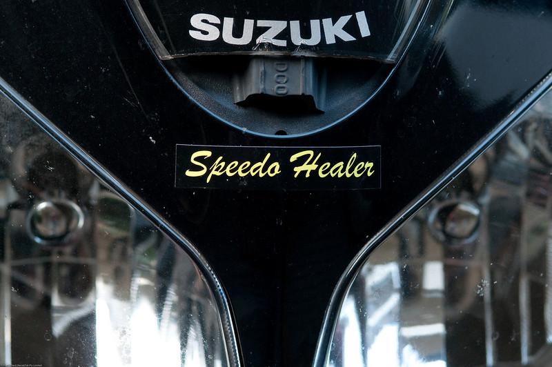 Speedo Healer and vented screen