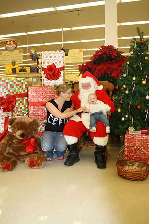 Brendyn and Santa 2012