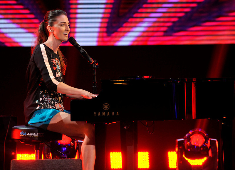 . Sara Bareilles performs on stage at the Do Something Awards at the Avalon on Wednesday, July 31, 2013, in Los Angeles. (Photo by Chris Pizzello/Invision/AP)