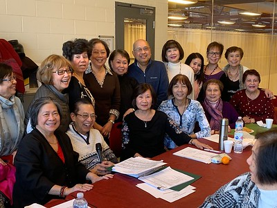 Filipino Seniors of Mississauga Jan 2019 Meeting