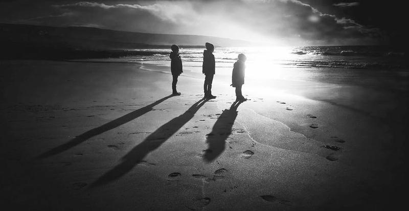 Long Shadows On Fanore Beach.jpg
