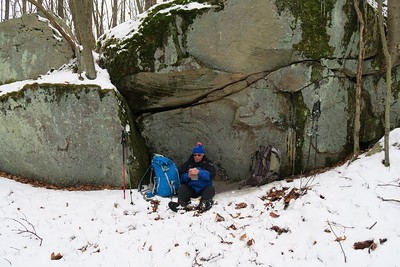 Chestnut Ridge - Hemlock Trail - 2-27-16