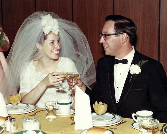 Dick & Ellen's Wedding 9-14-1968