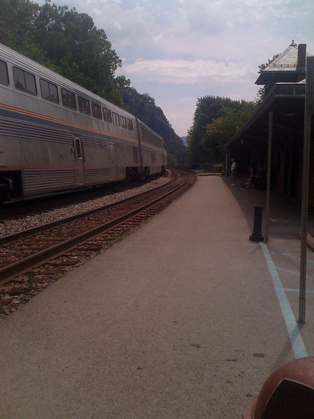 AT AMTRAC Station