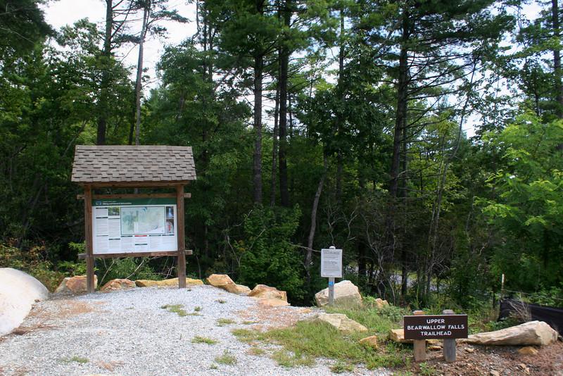 Upper Bearwallow Falls Trail