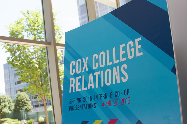 COX College Relations Spring 2015
