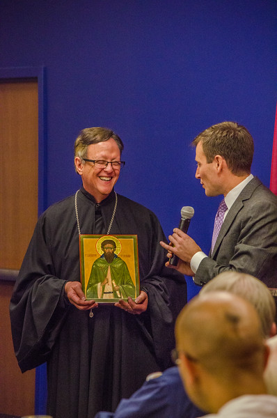 Fr. Constantine: 30 Years of Ministry at Georgetown