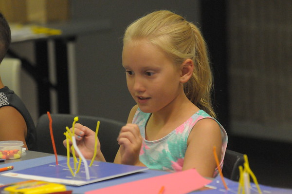 Science in the Summer program held at Warminster Township Library