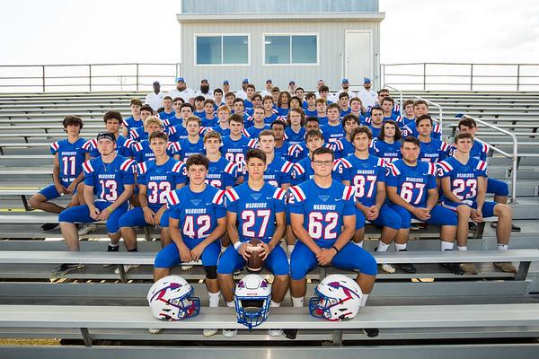 2019-8-29 WHS Football Team Photo Day