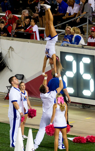 More Memphis cheerleader athletics