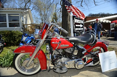 2015 Curt Comer's Lynchburg vintage motorcycle show