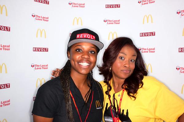 McDonald's Revolt Tour Houston