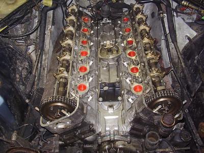 B1CMH XJS V12 coupé, dead engine