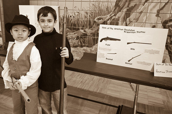 4th Grade Rev War Living Museum